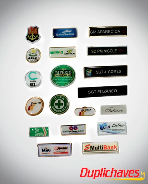 Broches Variados