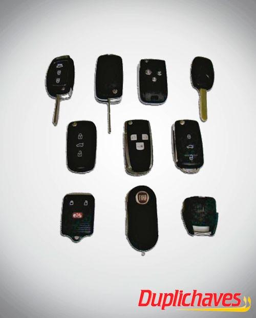 Chaves Codificadas modelo canivete para veículos