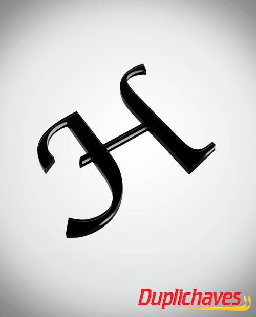 Letras em acrílico