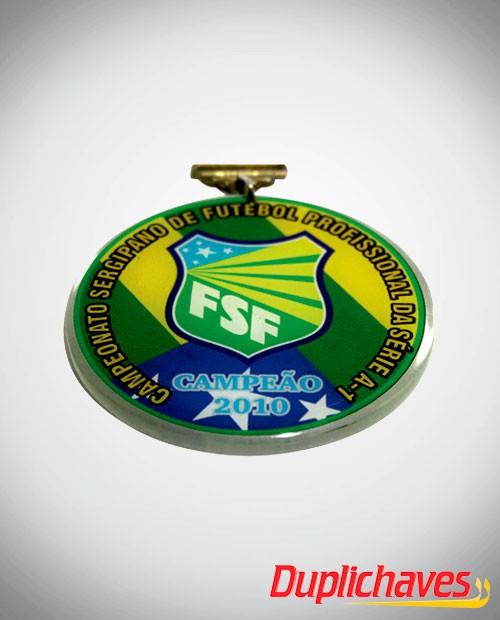 Medalha em acrílico